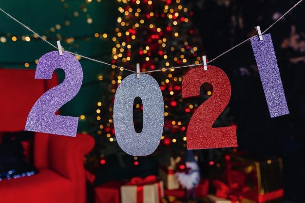 decoração ano novo para 2021