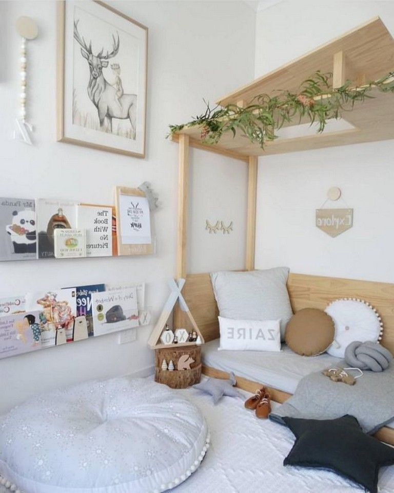 decoração de quarto montessoriano