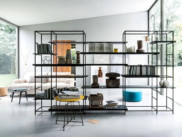 estante minimalista
