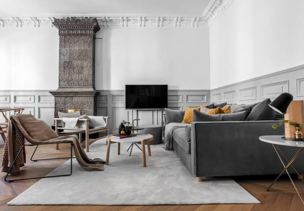 móveis neutros para sala de estar