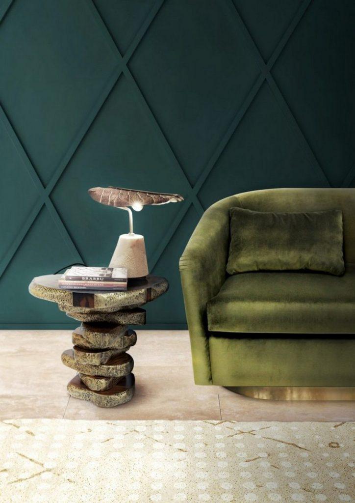 móvel ousado em destaque na sala de estar