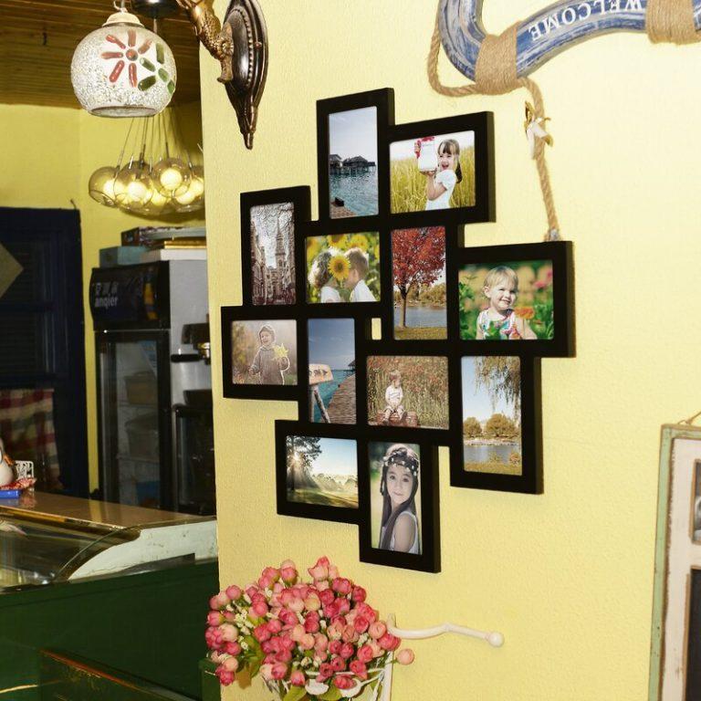 porta-retratos em parede