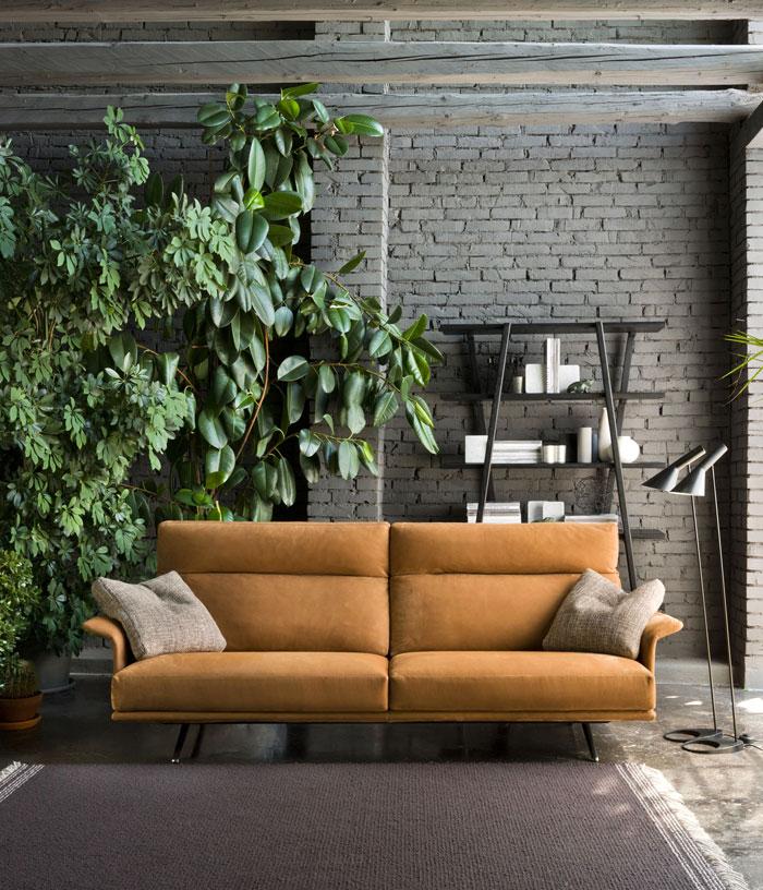 sala de estar com foco sustentável