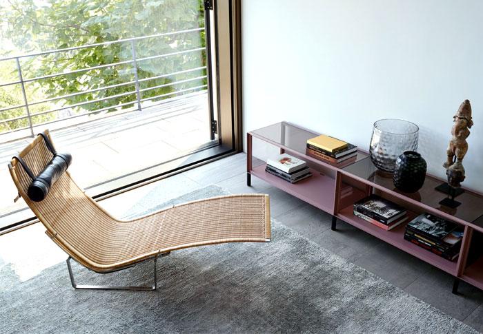 sala de estar decorada minimalista