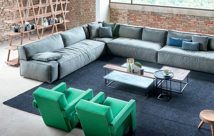 verde como tendência para sala de estar