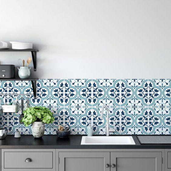 Azuleijo marroquino para cozinha