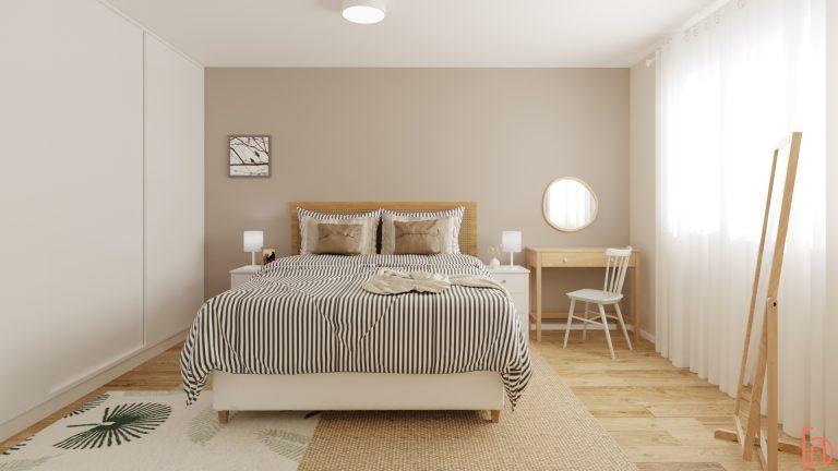 decoração natural quarto de casal
