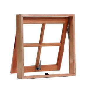 tipo de janela de madeira