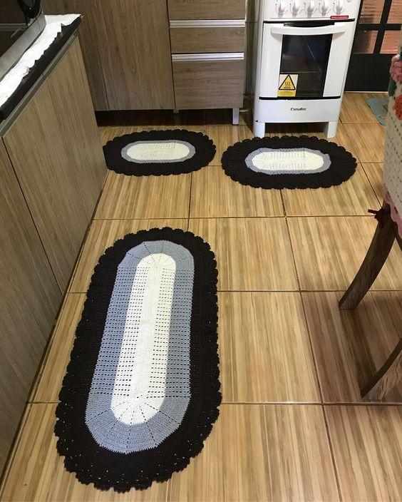 Jogo de tapete cozinha