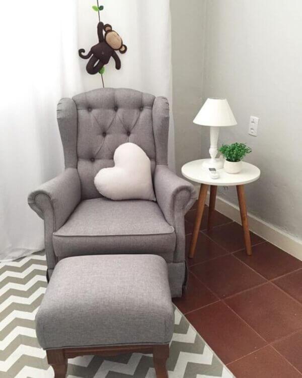 Poltrona moderna para quarto