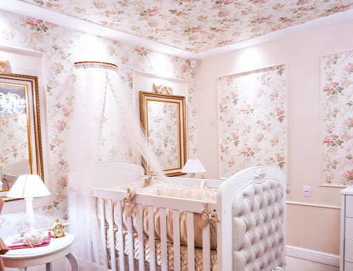 quarto de bebê cor de rosa