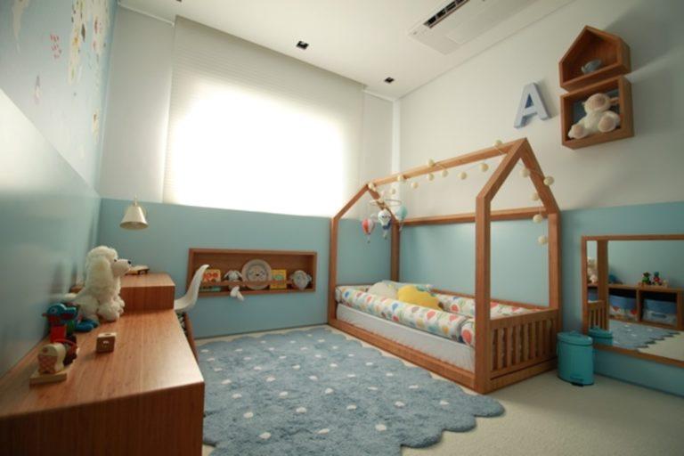 quarto montessoriano para meninos