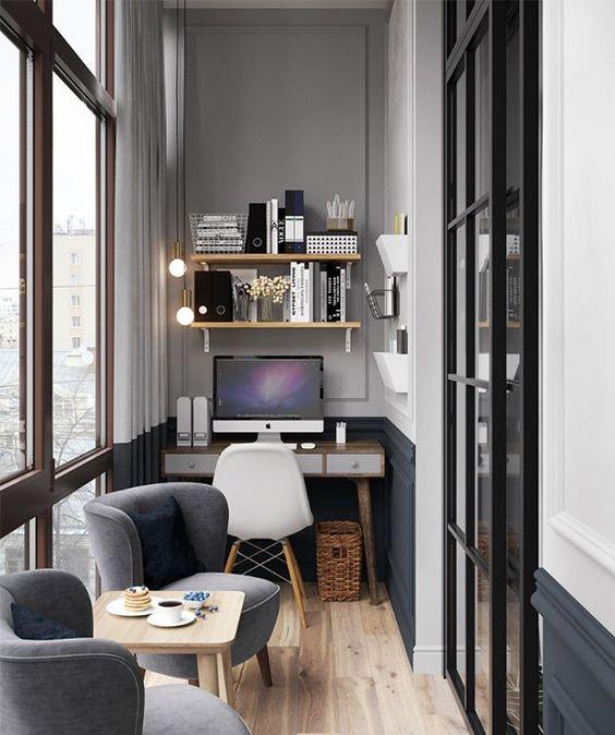 Varanda pequena de apartamento