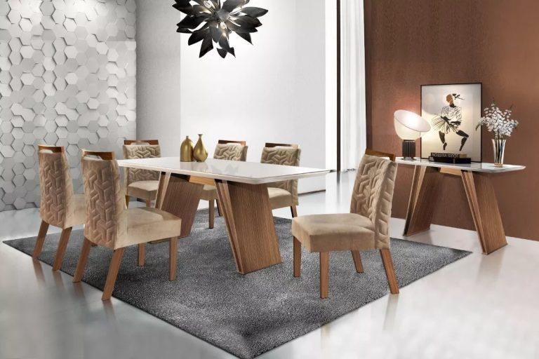aparador moderno em sala de jantar