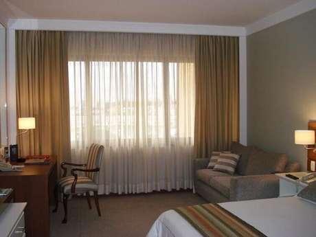 cortina longa para quarto