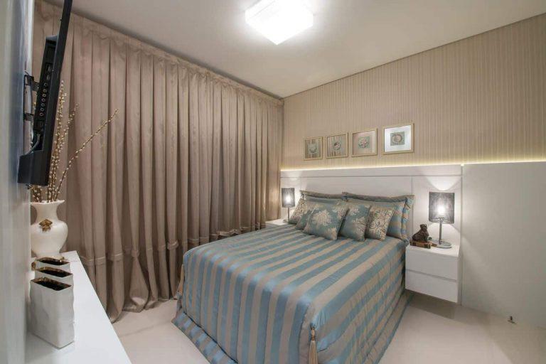 cortina tipo blecaute para quarto