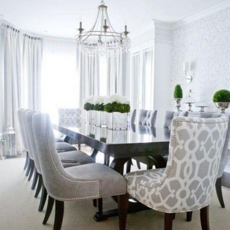 móveis confortáveis para a sala de jantar