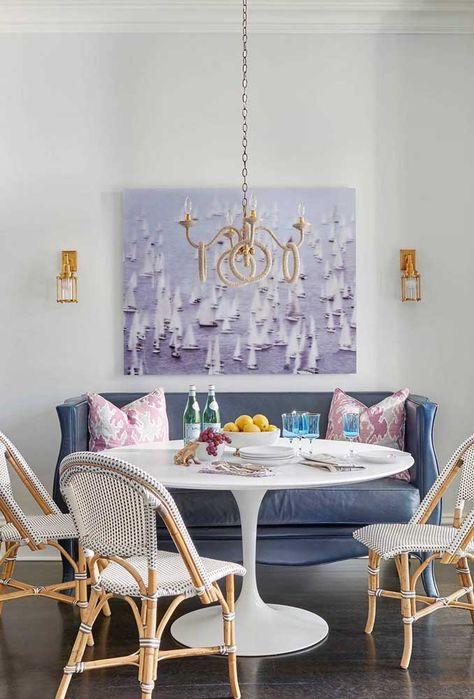 móveis de estilos diferentes para sala de jantar