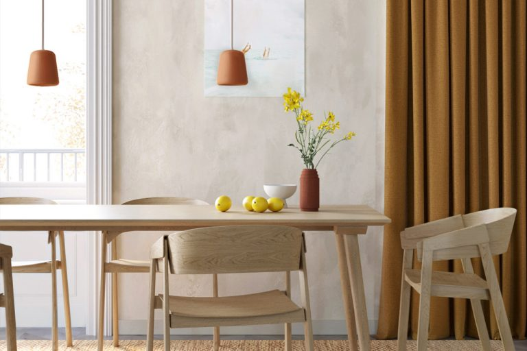 móveis sustentáveis para a sala de jantar