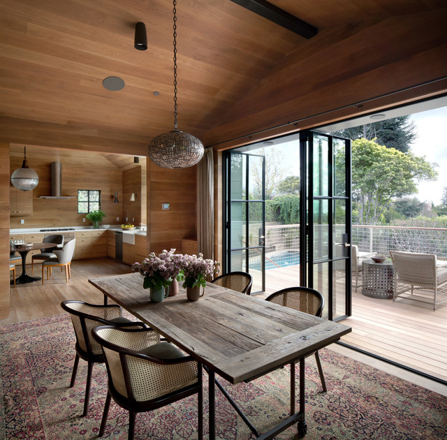 móveis sustentáveis para sala de jantar