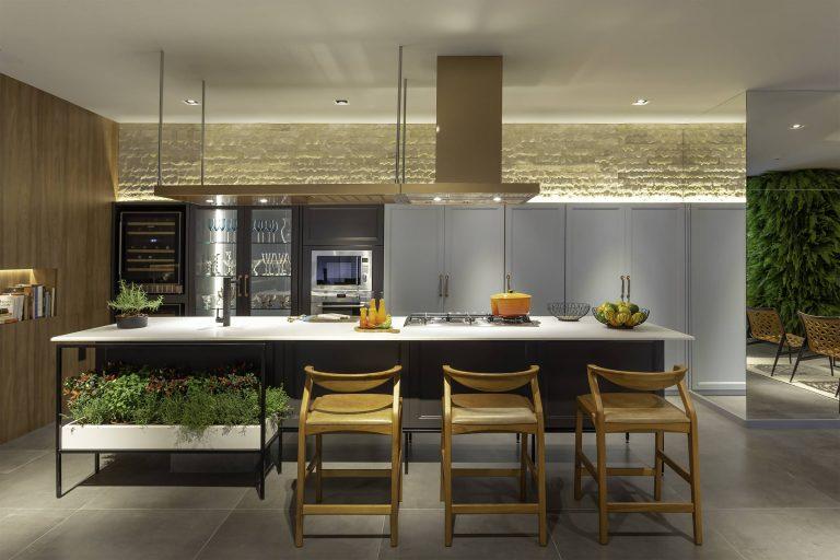 modelo de cozinha como tendência