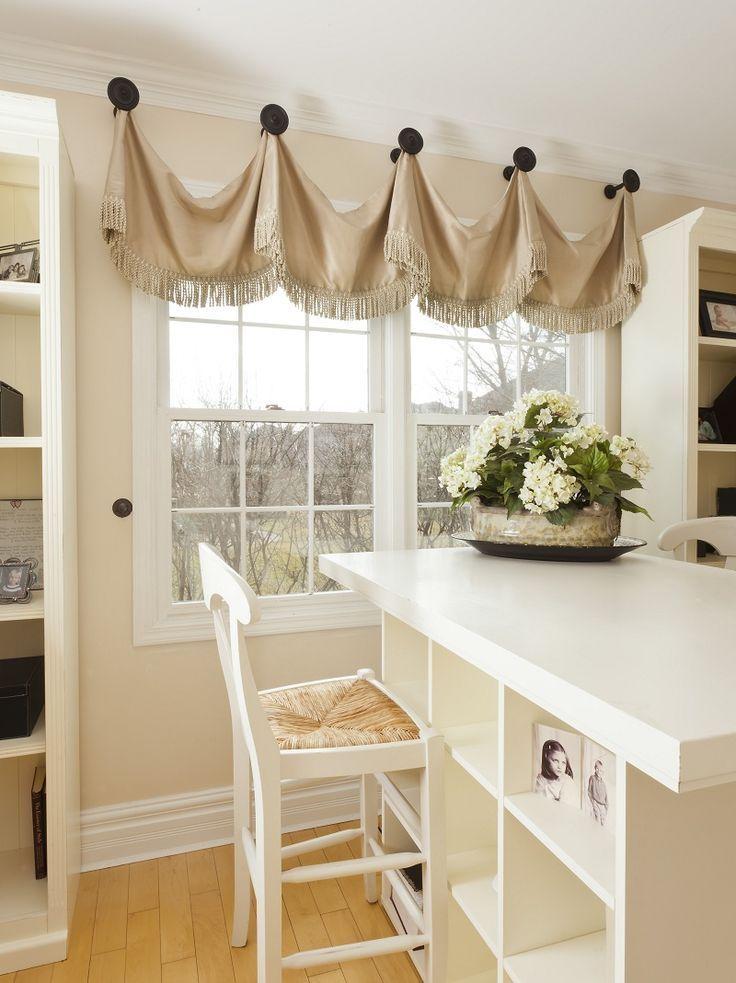 modelo diferente de cortina para cozinha