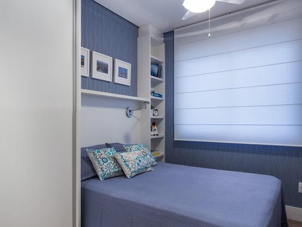 persianas brancas blecaute para quarto