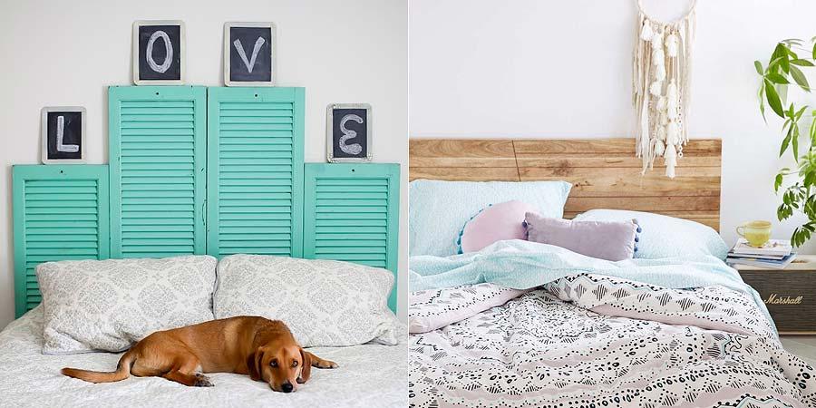 decoração cabeceira da cama