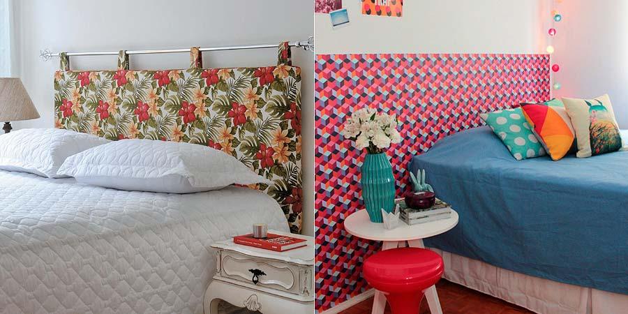 decoração para cabeceira de cama