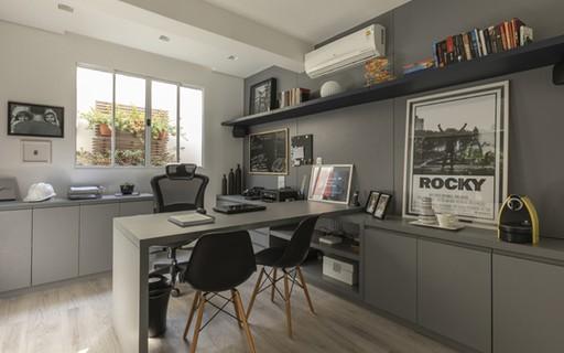 Espaço próprio para home office