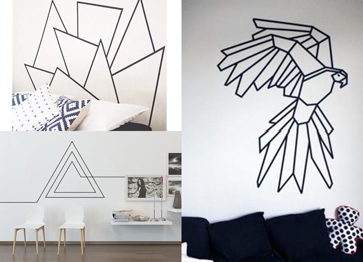 fita adesiva para decoração de parede