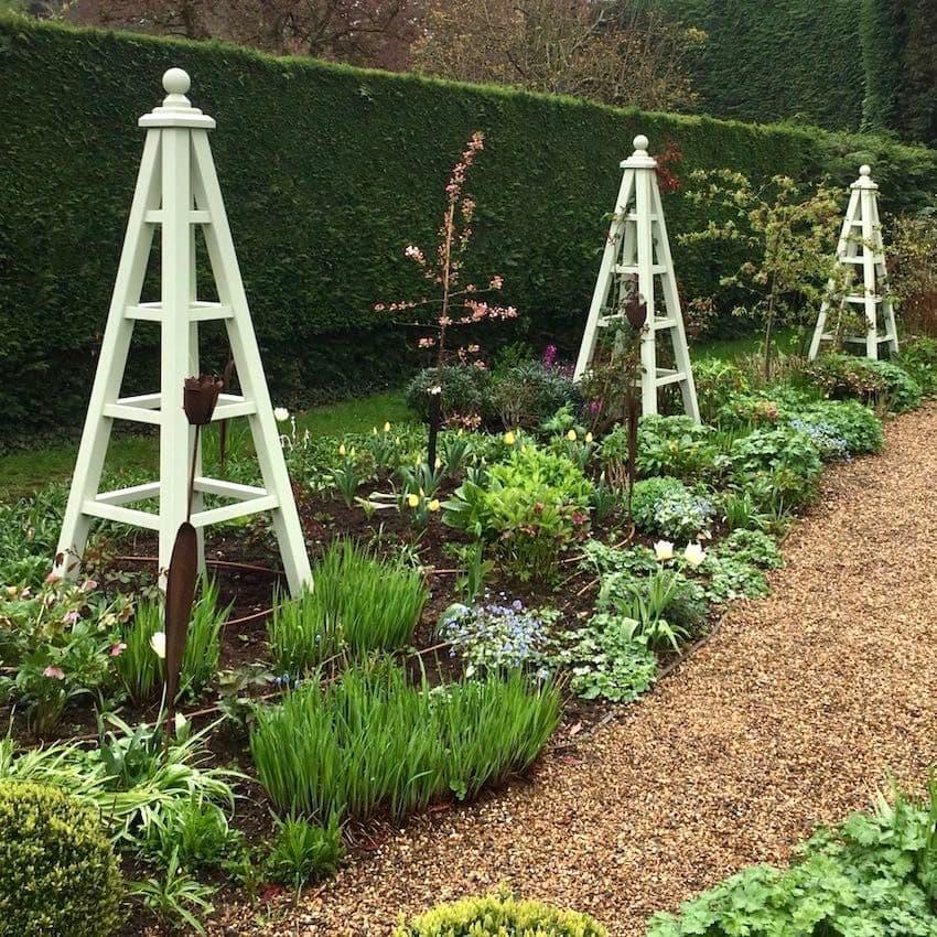 decoração para jardim grande