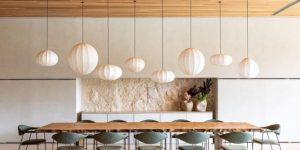 decoração sala de jantar tendencia japandi